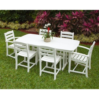 POLYWOOD® La Casa Cafe Outdoor 7-Piece Dining Set