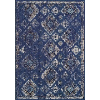 Couristan Vintage Ferahan/Denim Rug (2' x 3'7)
