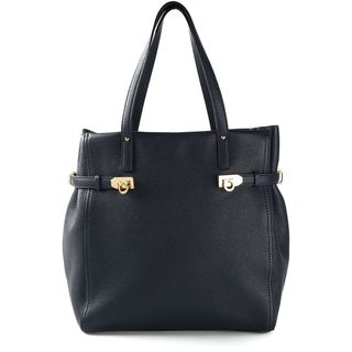 Salvatore Ferragamo Nencia Black Leather Tote
