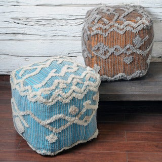 Christopher Knight Home Keoni Fabric Pouf