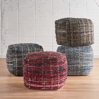 Christopher Knight Home Harris Multcolor Fabric Pouf