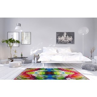 Oliver Gal 'Pizzicato One' Rug (5' x 8')