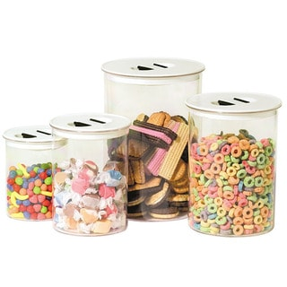 Oggi Stack 'N Store 4 Piece Canister Set