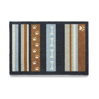 """Howler and Scratch Dog Stripe Premium Nylon Washable Accent Rug - 1'9"""" x 3'3"""""""
