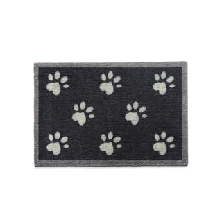 "Howler & Scratch Big Paws Black Nylon Premium Washable Accent Rug - 1'8"" x 3'3"""