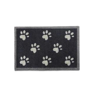 Howler Scratch Big Paws Black Nylon Premium Washable Accent Rug - 1'8 x 3'3