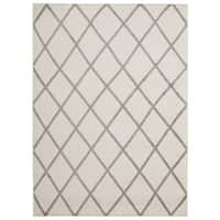 Jasmin Collection Moroccan Trellis Area Rug (5'3 x 7'3)