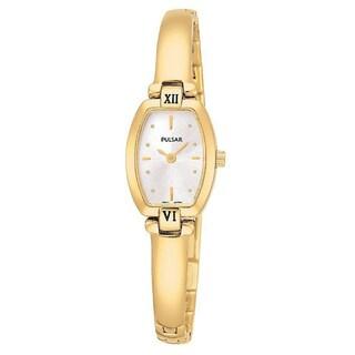 Pulsar PEGA68 Women's Analog Quartz Goldtone Stainless Steel Watch