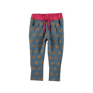 Rockin' Baby Girl's Spot Print Sweatpant (Dark Teal)