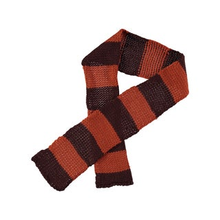 Rockin Baby Boy's Brown and Orange Scarf