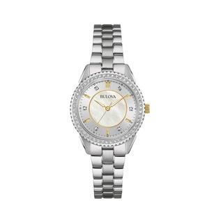 Bulova Women's 96L223 Crystal Watch