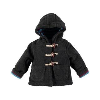 Rockin Baby Boys' Grey Fleece Lined Borge Jacket