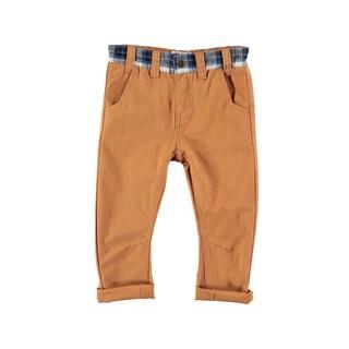 Rockin' Baby Boys' Camel Cotton Corduroy Pants