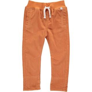 Rockin' Baby Boy's Rust Cotton Cord Drawstring Pants