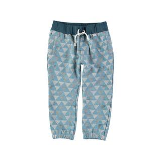 Rockin' Baby Boys' Blue Cotton Blend Printed Sweatpant