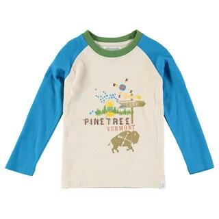 Rockin' Baby Boys' Stone Pine Tree Embroidered T-shirt