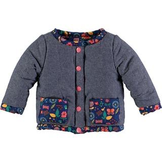 Rockin Baby Baby Girl Navy Print Reversable Jacket