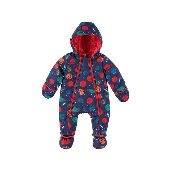 e9e2fa0b2 Shop Rockin Baby Baby Boy Navy Space Print Snowsuit - Free Shipping ...