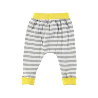 Rockin Baby Baby Boy Grey Stripe Legging