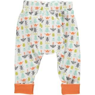 Rockin Baby Baby Boy White Bug Print Legging