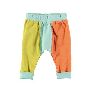 Rockin' Baby Baby Boys' Multicolored Colorblock Cotton Leggings