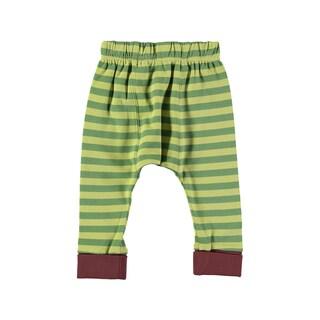 Rockin Baby Baby Boy Green Stripe Legging