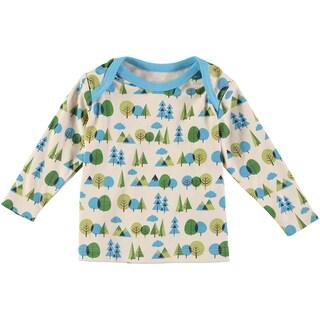 Rockin Baby Boys' Forest Print Cotton T-shirt