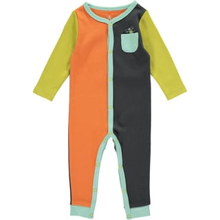 Rockin Baby Baby Boy Bug Colour Block Romper