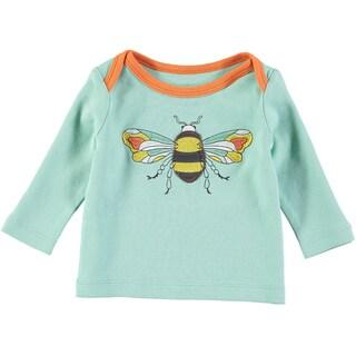 Rockin Baby Baby Boy Blue Bee Applique Tee