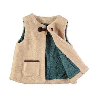 Rockin Baby Girl's Ivory Borge Gillet Jacket