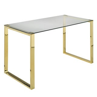 Zenon Large Gold Desk