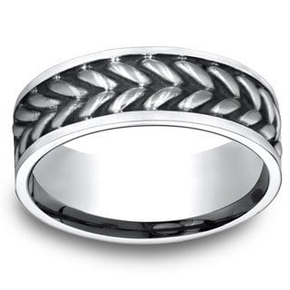 8mm Men's Cobalt Ring