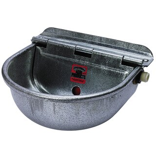 Little Giant Farm & Ag Galvanized Controlled Stock Waterer
