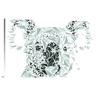 Naxart Studio Koala Bear Stretched Canvas Wall Art
