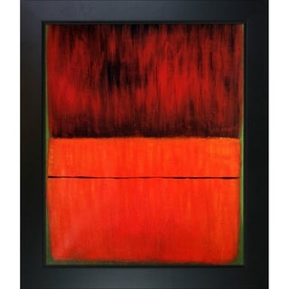 Mark Rothko 'Untitled, 1959' Hand Painted Framed Oil Reproduction on Canvas