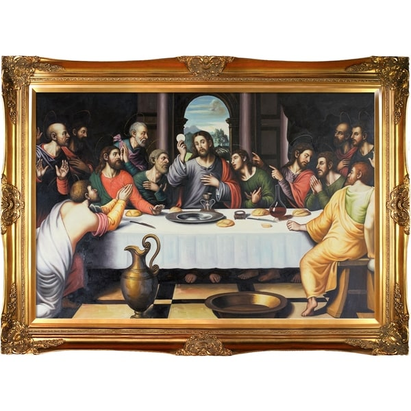 Shop Juan De Juanes The Last Supper Hand Painted Oil Reproduction