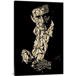 Naxart Studio 'Johnny Cash' Stretched Canvas Wall Art