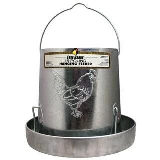 Free Range Hanging Metal Poultry Feeder