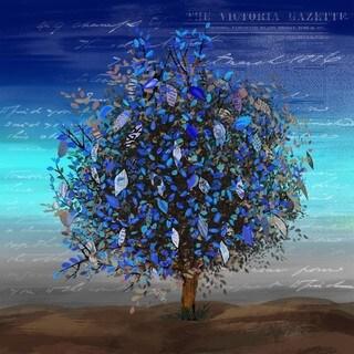 Blue Autumn Wall Art