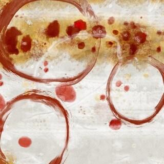 Orange Splash I Wall Art