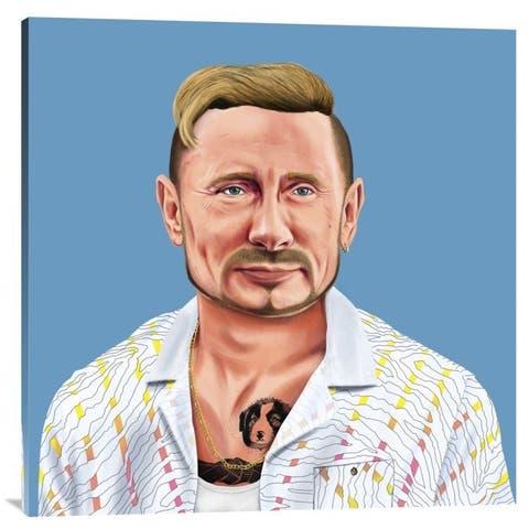 NAXART Studio 'Putin' Stretched Canvas Wall Art