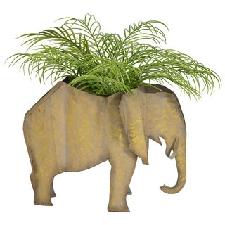 Bombay Outdoors Jelani Elephant Planter