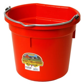 Little Giant Farm & Ag 20 Quart Flat Plastic Bucket