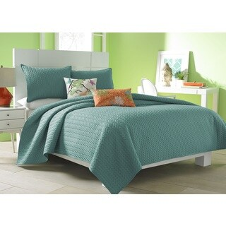 Five Queens Court Catori Jade Coverlet