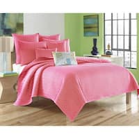 Five Queens Court Catori Pink Coverlet