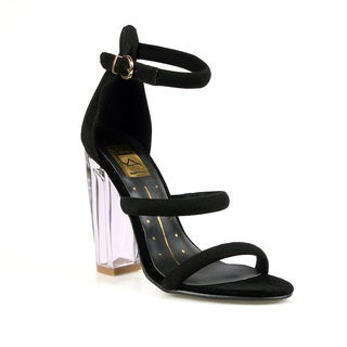 Fahrenheit Gigi-03 Women's Clear High Heel Sandal