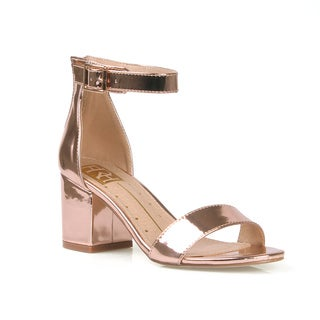 Fahrenheit Mavis-01 Women's Chunky Heel Sandals
