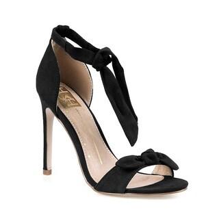 Fahrenheit Mandy-01 Women's Chunky Heel Sandals