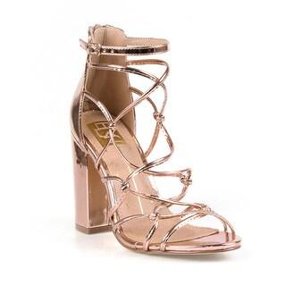 Fahrenheit Constance-03 Chunky Heel Women's High Heel Sandal