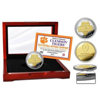 Clemson 2016 Football National Champions Two-Tone Mint Coin